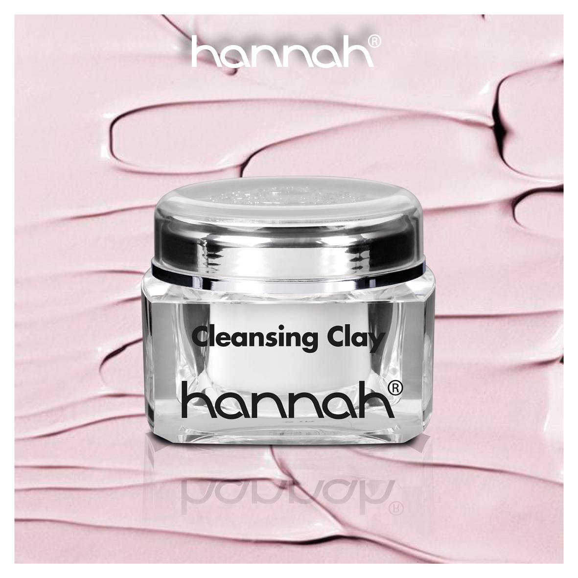 hannah cleansing clay - Kleimasker hannah - huidcoach - hannah huidcoach